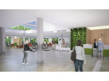 Sollentuna sjukhus (nya) - entrétorget