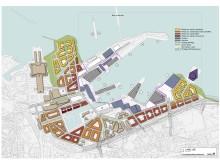 Strukturskiss över Tallinns hamn