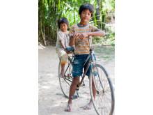 En cykel som gör gott