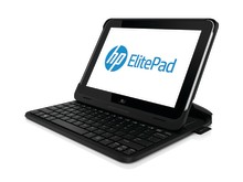 HP ElitePad Productivity Jacket with HP ElitePad Left facing 20121210078