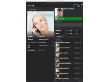 Weblink Communicator skärmavbildning