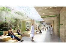 Dansk Center for Partikelterapi - Venteareal