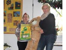Sammeln für Bärenherz: Christine Jentzsch motiviert Personen, Vereine und Firmen zu spenden