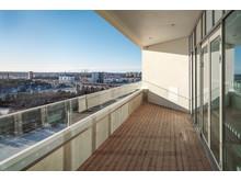 Fantastisk utsikt mot Årstaviken från de nya vårdavdelningarna på Södersjukhuset