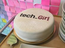 Tech Girl cake