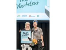 Therese Marteleur och Isabelle McAllister
