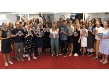 Team Emelie Schepp. Medarbetare på HarperCollins