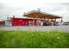 OKQ8:s hållbara drivmedelsstation får GreenBuilding certifiering