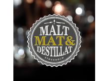 Mal, Mat &  Destillat logga