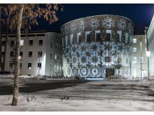 Humanistiska teatern, Uppsala universitet, konstnär Ann Lislegaard