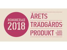 Fem nominerade produkter till Årets Trädgårdsprodukt 2018 presenteras på Elmia Garden.