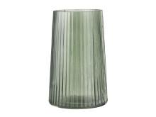 Vas ROY Ø20xH12cm grönt glas (45 SEK)