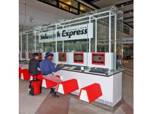 Profilskylt Sidewalk express