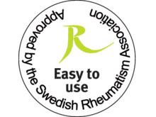 Easy to use - godkänd av Reumatikerförbundet