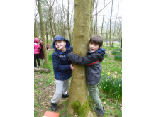 TREEHUGGERS: Sustainable woodland event for Year 5 from St Thomas Moor Primary School