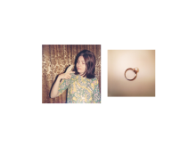 Jennifer Loeber, Ring, 2014, 22x22cm