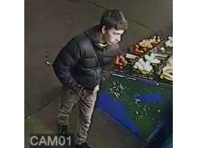 Image: Man wanted for questioning