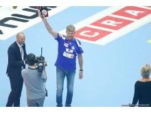 Martin Lernås från Alingsås HK blev Årets Ungdomscoach 2015-2016. Tävlingen arrangeras av Svensk Elithandboll och Cramo.