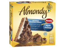 Almondy marängtårta med Marabou Mjölkchoklad
