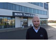 MANs Kundeservicechef Claus Jensen bliver overordnet ansvarlig for driften af MANs værksteder i Greve og på Avedøre Holme