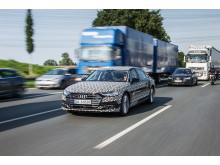 A8 AI traffic jam assist