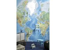 World Map Detailed - Photowall