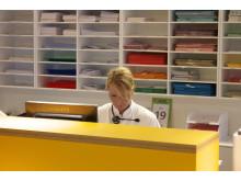 God service logistik starter på de kliniske afdelinger