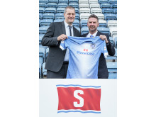 Stranraer FC and Stena Line sponsorship deal breaks records