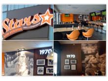 Inspirerande skylt- och dekorlösningar till Stars and Stripes Grill & Sportbar