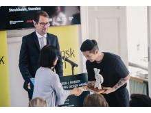 Korea + Sweden Young Design Award – prisceremoni hos Svensk Form