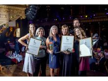 Vinnarteamet bakom ljussättning och inredning av Restaurant Frantzén