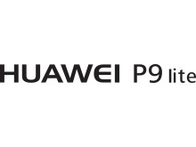 Huawei P9 Lite logo black