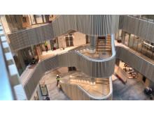 Ljushallen i nya Hubben i Uppsala Science Park