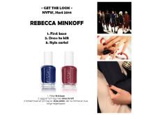 Get the look - Rebecca Minkoff