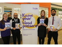 Award-winning health campaign visits Birmingham and reveals over a third of residents have stroke risk symptoms