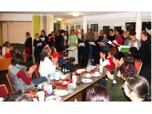 Der Gewandhaus-Chor singt im Hospiz