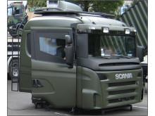 Scania pansret førerhus