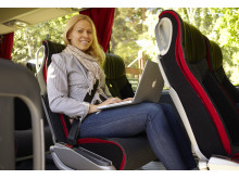 Större benutrymme på Swebus nya bussar