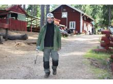 Henryk Hörner vid Kleva Gruva