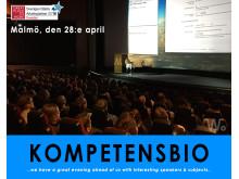 Kompetensbio den 28 april i Malmö