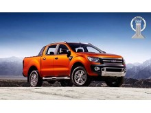 "Ford Ranger ble tildelt ""International Pickup Award""  5. november 2012"