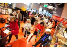 Kaos när City Gross M.A.T. etablerade unik butik i Stockholm 140925