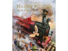 Omslag_Harry Potter og de vises stein, illustrert praktutgave