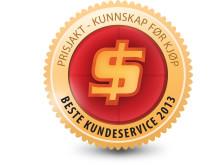 Beste Kundeservice 2013
