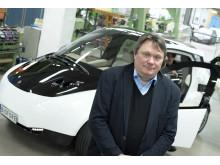 Mikael Skrifvars, professor i polymerteknologi vid Högskolan i Borås