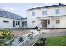 Exteriör nya villa Anneberg från A-hus