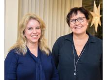 Josefin Sundh och Helena Fadl, Region Örebro län 2018