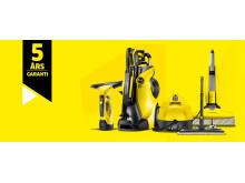 Kärcher 5 års garanti med produkter
