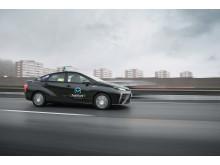 TaxiKurir är det första taxibolaget i Europa som tar ut två stycken Toyota Mirai vätgas bilar som taxi - med vatten som enda utsläpp