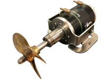 Bellmarine liquid-cooled shaft-drive motor